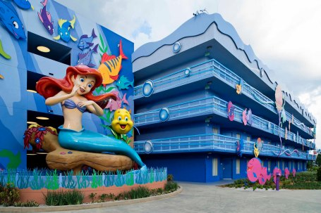 "Ariel's ""Part of Your World"" at Disney's Art of Animation Resort"